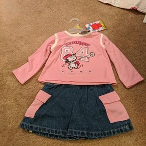 Snoopy 3t outfit. NWT